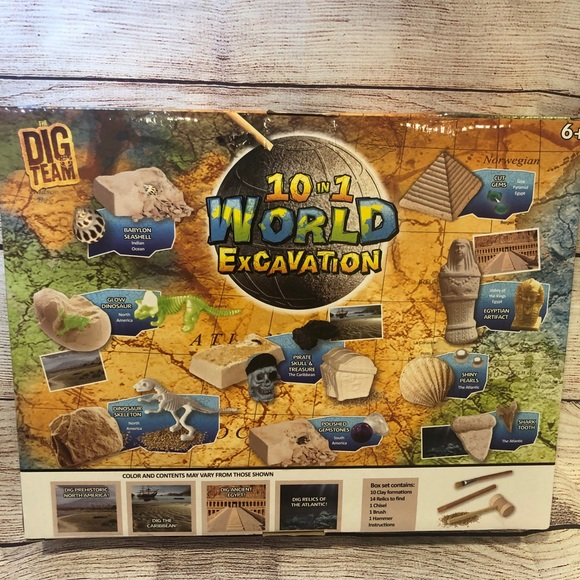 10 in 1 World Excavation by The Dig Team